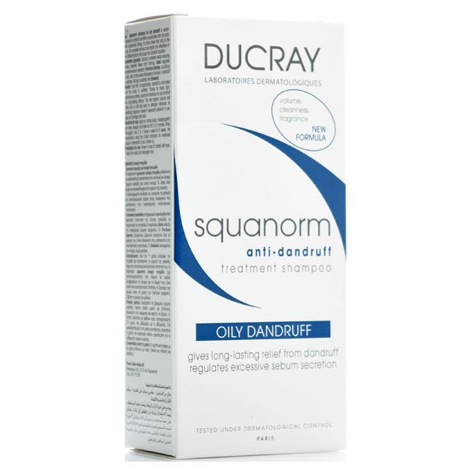 Ducray Squanorm anti- dandruff shampoo oily dandruff 200ml