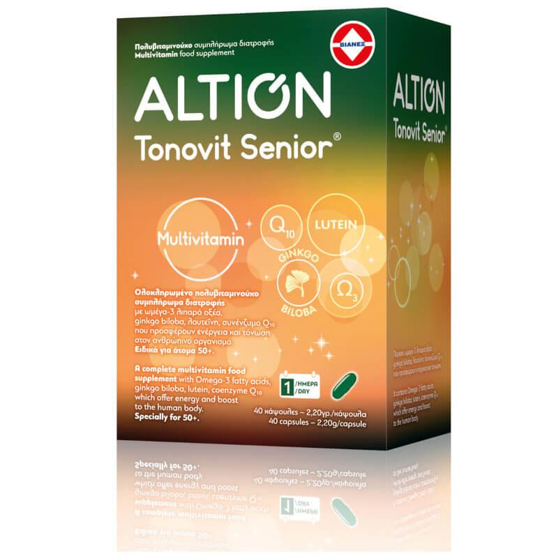 Altion Tonovit Senior Πολυβιταμίνες 40τμχ