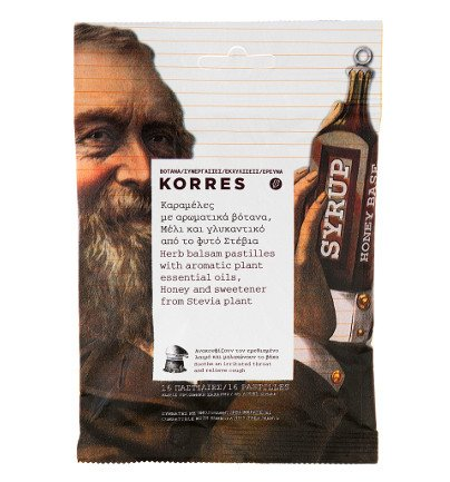 Korres Candies with Honey and Herbs Stevia 16tmch