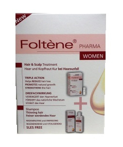 Foltene Women Shampoo Thinning Hair 200ml + Hair   Scalp Treatment 100ml  41f123f8dc9