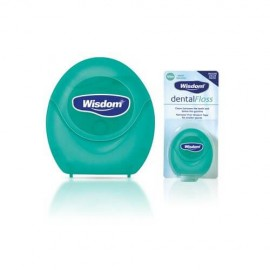 Wisdon Dental Floss Mint Waxed 100m