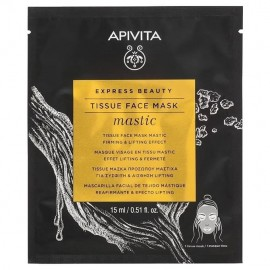 Apivita Express Tissue Face Mask Mastic 15ml