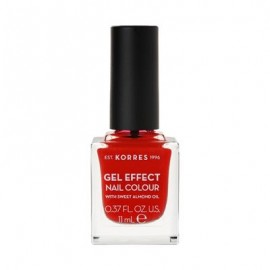 Korres Gel Effect Nail Colour No 48 Coral Red 11ml