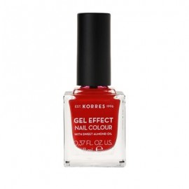 Korres Gel Effect Nail Colour No 53 Royal Red 11ml