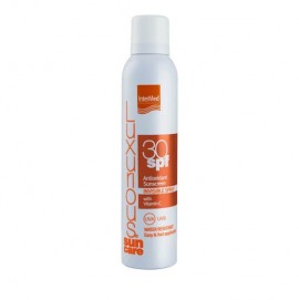 Intermed Luxurious Sun Care Αντιοξειδωτικό  Invisible Spray spf30 Με Βιταμίνη C 200ml