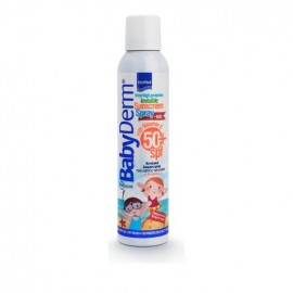Intermed Babyderm Sunscreen Spray For Kids Spf50+ 200ml