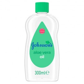 Johnsons Baby Aloe Vera Oil 300ml