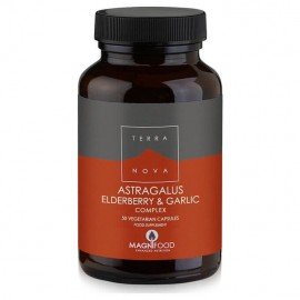 Terranova Astragalus Elderberry & Garlic 50caps