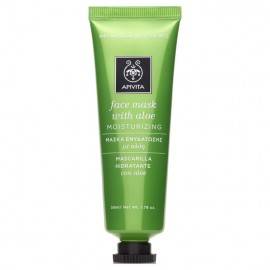 Apivita Face Mask with Aloe 50ml