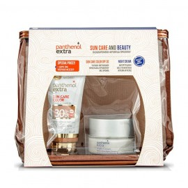 Medisei Panthenol Extra Sun Care Colour SPF30 50ml & Night Cream 50ml