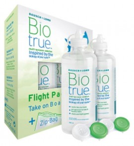 Bausch & Lomb Bio true Flight pack 2x60ml
