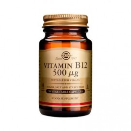 Solgar Vitamin B 12 500mg 50 κάψουλες