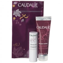Caudalie The Des Vignes Κρέμα Χεριών 30ml + Lip Conditioner 4,5g