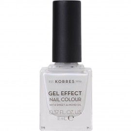 Korres Gel Effect Nail Colour No11 Coconut Smoothie 11ml