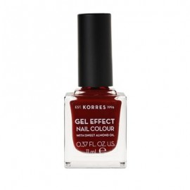 Korres Gel Effect Nail Colour No 59 Wine Red 11ml