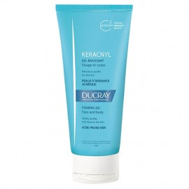 Ducray Keracnyl gel moussant innovation mirtacine 200ml