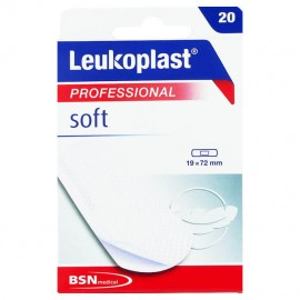 BSN Medical Leukoplast Professional Soft Αυτοκόλλητο Επίθεμα 19mm x 72mm 20τμχ