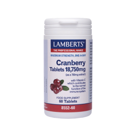 Lamberts Cranberry Tablets 18.750mg 60 κάψουλες