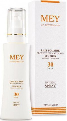 ΜΕΥ Lait Solaire Sun Milk Natural Spray spf30 150ml