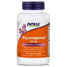Now Foods Pycnogenol 30mg 30vegcaps