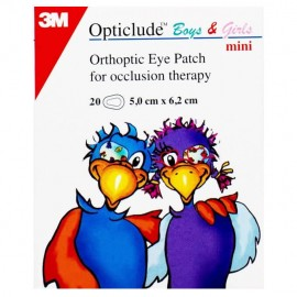3M Opticlude Boys & Girls Mini 20pcs