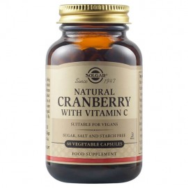 Solgar Cranberry Extract with Vitamin C 60vcaps