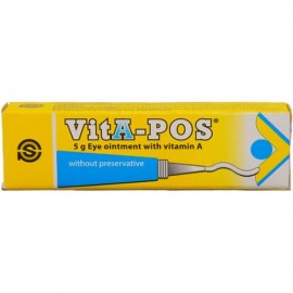Pharmex VitA-Pos Eye Ointment Vitamin A 5g