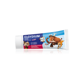 Elgydium Kids Ice Age Φράουλα 1000ppm 50ml