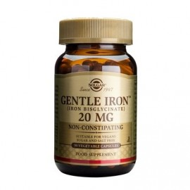 Solgar Gentle Iron 20mg 90s