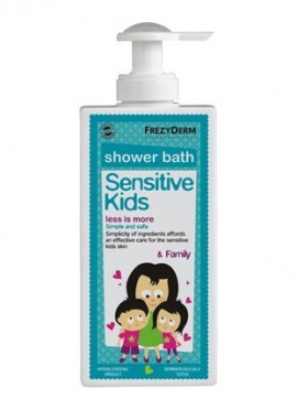 Frezyderm Sensitive Kids shower bath & Family 200ml