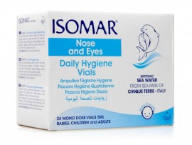 Isomar Nose & Eyes Daily Hygiene Vials 24x5ml