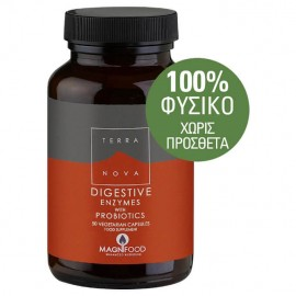 Terranova Digestive With Probiotics 50caps