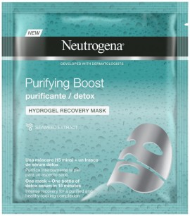 Neutrogena Purifying Boost Detox Hydrogel Recovery Mask 30ml