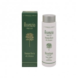 L Erbolario Absinthium For Him Shower Shampoo With The 3 Artemisia Species 250ml