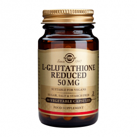 Solgar L-Glutathione Reduced 50mg 30veg.caps