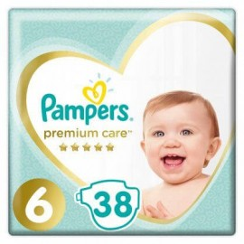Pampers Premium Care no6 13+ kg 38τμχ