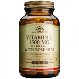 Solgar Vitamin C 1500mg with rose hips 90tabs